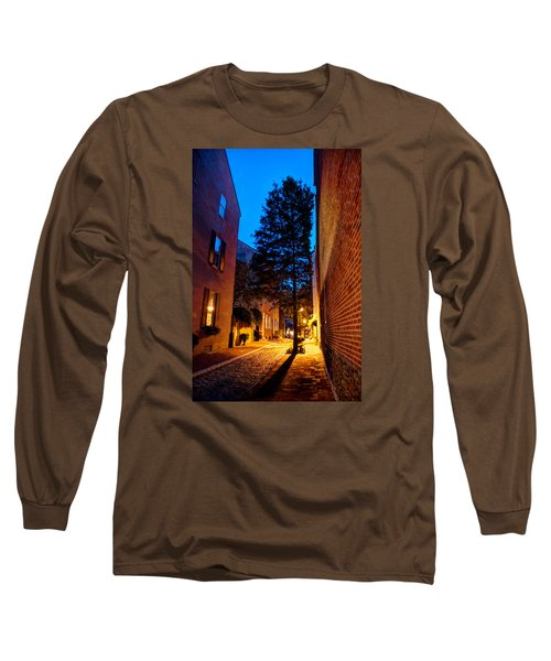 Long Sleeve T-Shirt featuring the photograph Alleyway by Mark Dodd