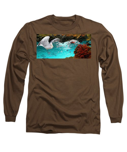 Allure Of Treats Long Sleeve T-Shirt by Mike Breau