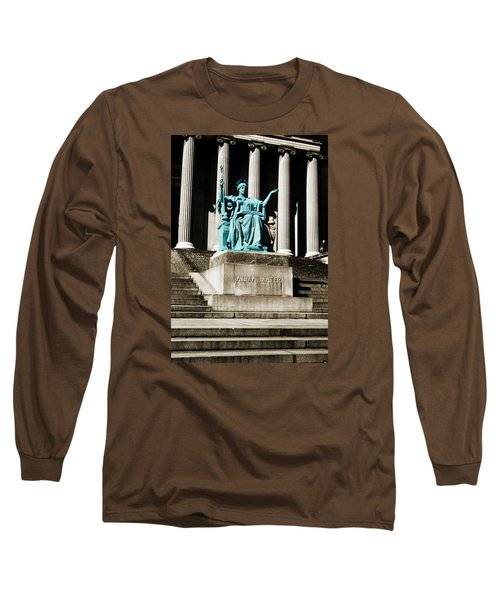 Alma Mater Long Sleeve T-Shirt by Marilyn Hunt