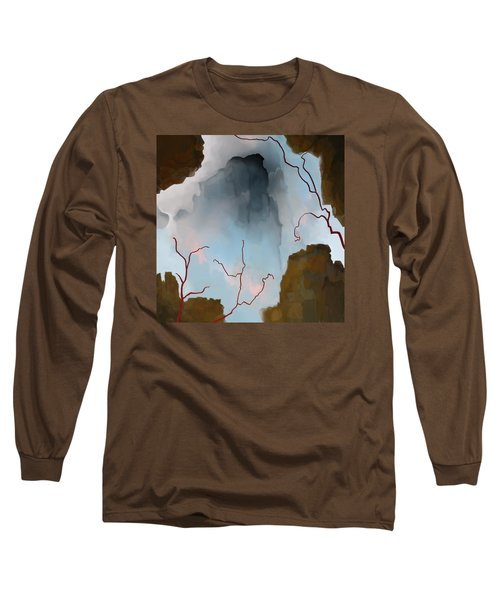 Long Sleeve T-Shirt featuring the digital art Almost Real by Constance Krejci