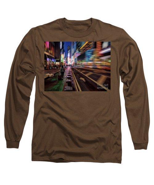 Alone In New York City 2 Long Sleeve T-Shirt