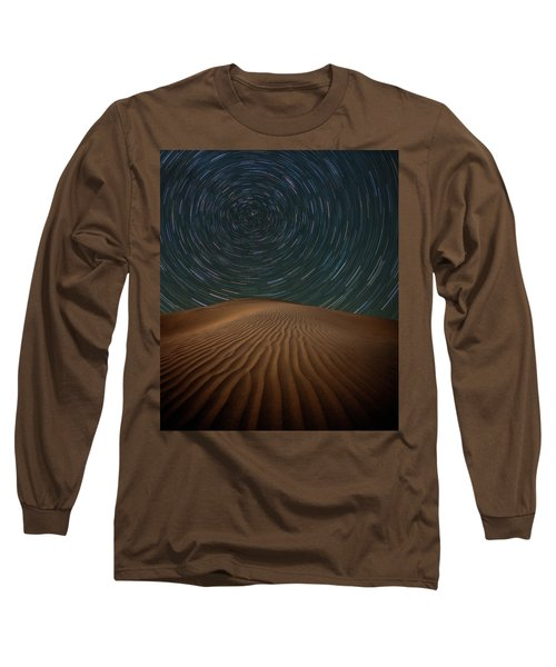 Long Sleeve T-Shirt featuring the photograph Alone On The Dunes by Darren White