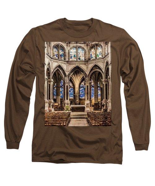Paris, France - Altar - Saint-severin Long Sleeve T-Shirt