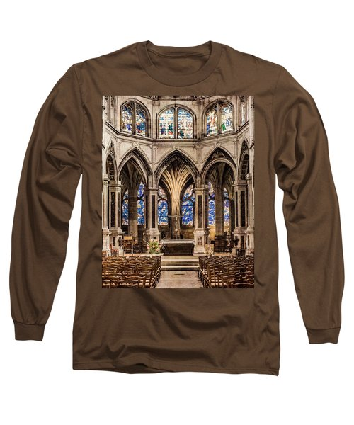 Paris, France - Altar - Saint-severin Long Sleeve T-Shirt
