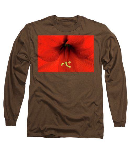 Amaryllis Long Sleeve T-Shirt