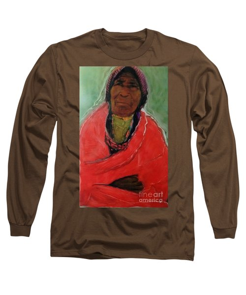 Long Sleeve T-Shirt featuring the painting Amazing Grace by FeatherStone Studio Julie A Miller