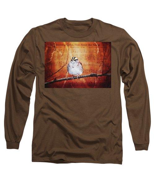 Amazing Grace Long Sleeve T-Shirt by Trina Ansel