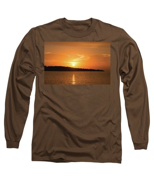 Dawn In Ibiza, Spain Long Sleeve T-Shirt