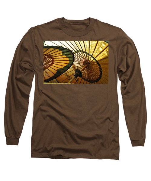 Long Sleeve T-Shirt featuring the photograph Amber Light Within by Jan Amiss Photography