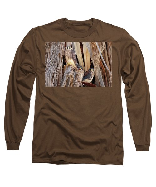 American Kestrels Long Sleeve T-Shirt