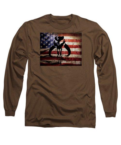 American Mandalorian Long Sleeve T-Shirt
