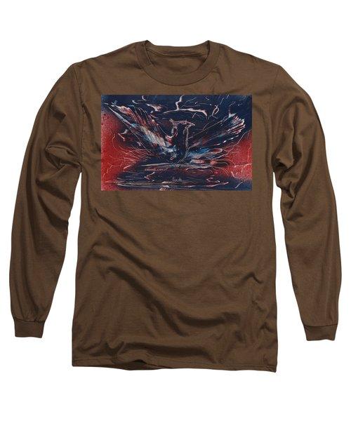 American Phoenix Rising Long Sleeve T-Shirt