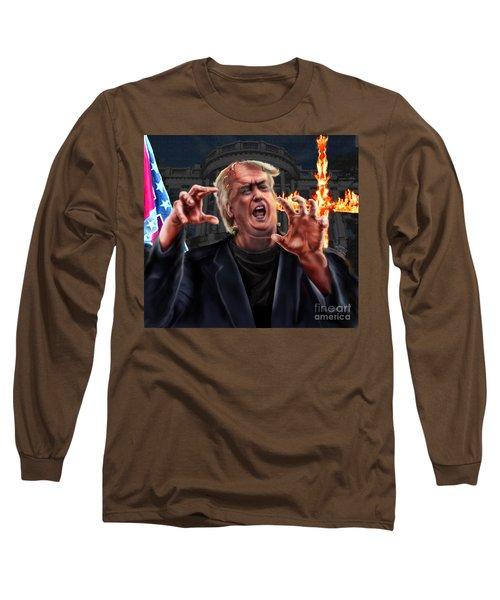 Amerikkkenstein Long Sleeve T-Shirt