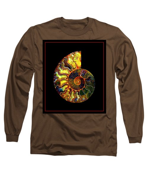 Ammonite Fossil - 8322-3 Long Sleeve T-Shirt