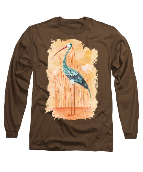 An Exotic Stork Long Sleeve T-Shirt