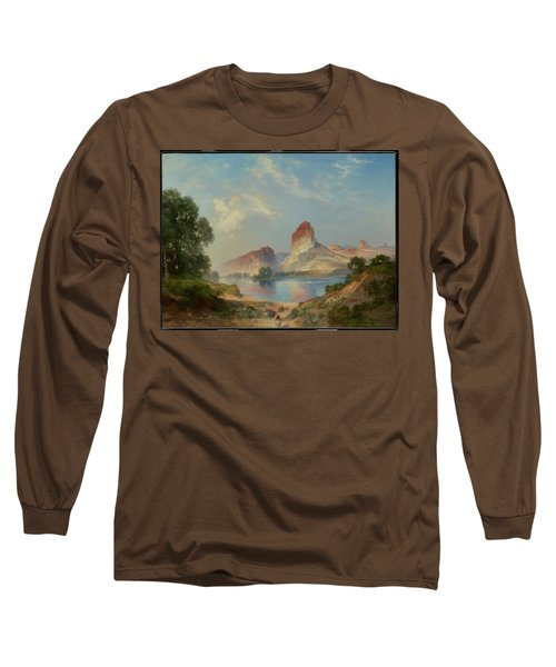 An Indian Paradise , Green River, Wyoming Long Sleeve T-Shirt