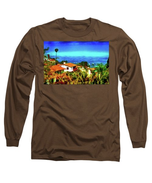 An Ocean View Long Sleeve T-Shirt