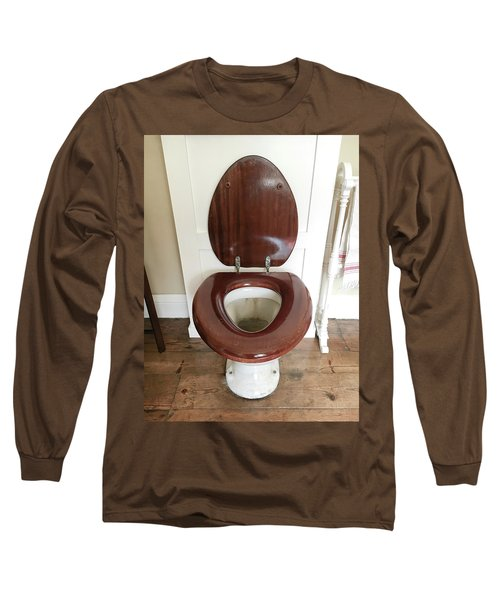 An Old Toilet Long Sleeve T-Shirt