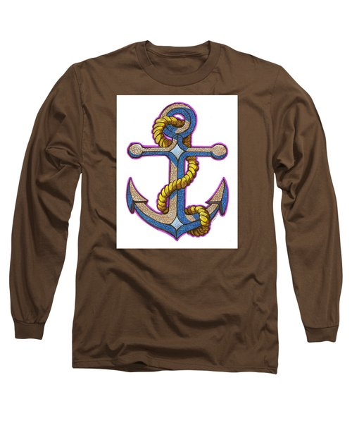 Anchor Colorized Long Sleeve T-Shirt