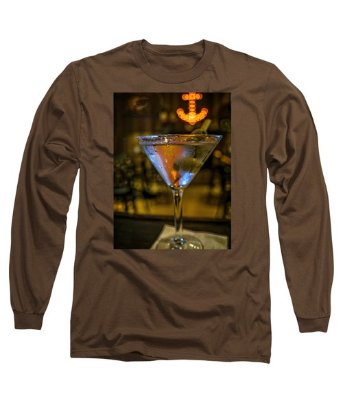 Anchor Your Martini Long Sleeve T-Shirt