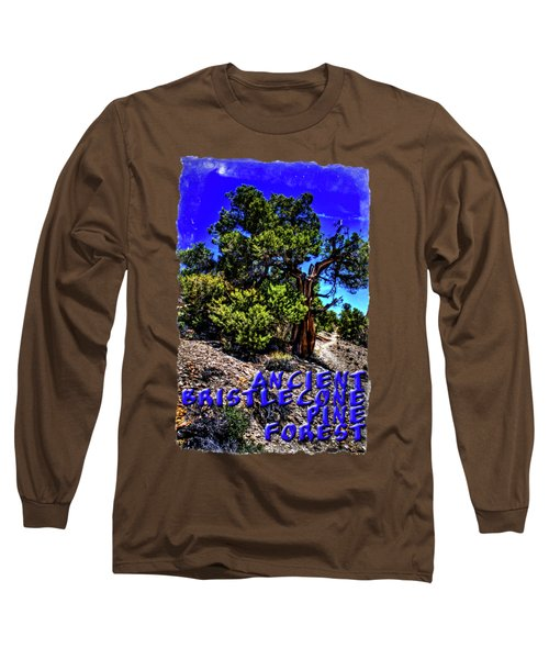 Ancient Bristlecone Pine Tree Long Sleeve T-Shirt