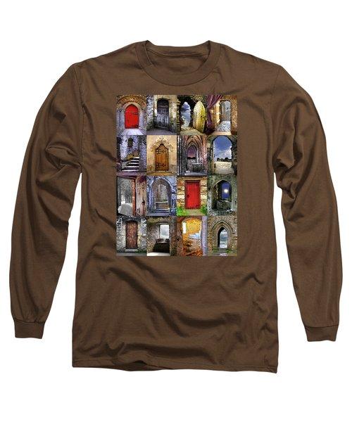 Ancient Doorways Long Sleeve T-Shirt