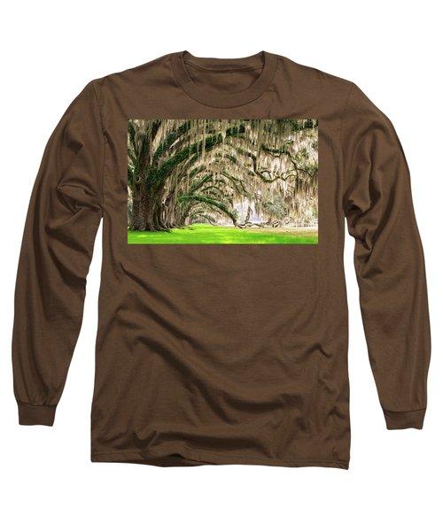 Ancient Southern Oaks Long Sleeve T-Shirt
