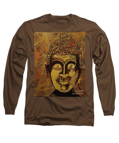 Ancient Textures Long Sleeve T-Shirt by Stuart Engel