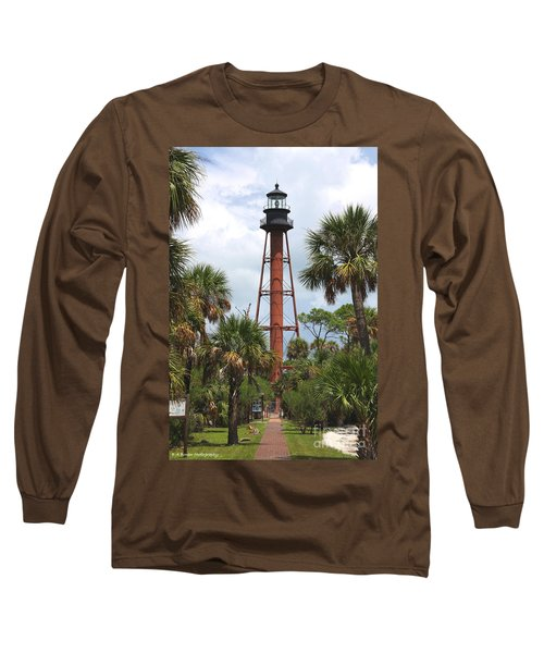 Anclote Key Lighthouse Long Sleeve T-Shirt