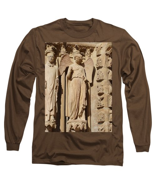 Angel In Reims Long Sleeve T-Shirt