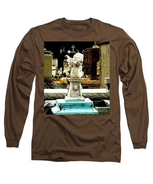 Angel Watching Over Me Long Sleeve T-Shirt