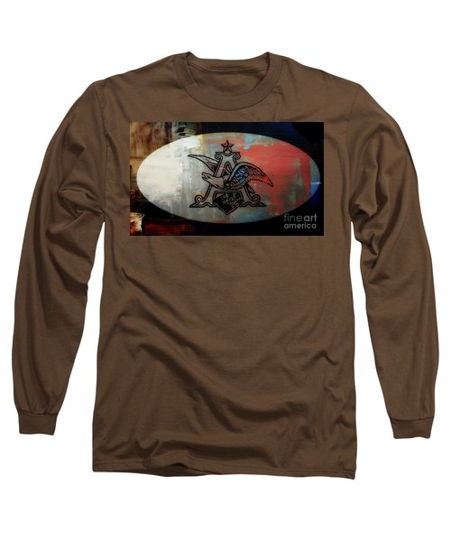 Anheuser Busch Eagle Painted Long Sleeve T-Shirt
