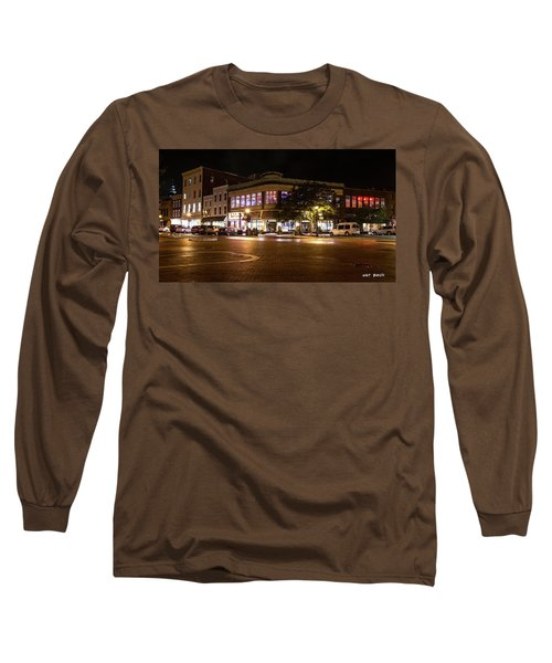 Annapolis At Night Long Sleeve T-Shirt