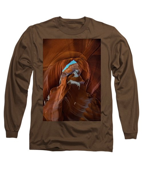 Antelope Canyon 16 Long Sleeve T-Shirt by Phil Abrams