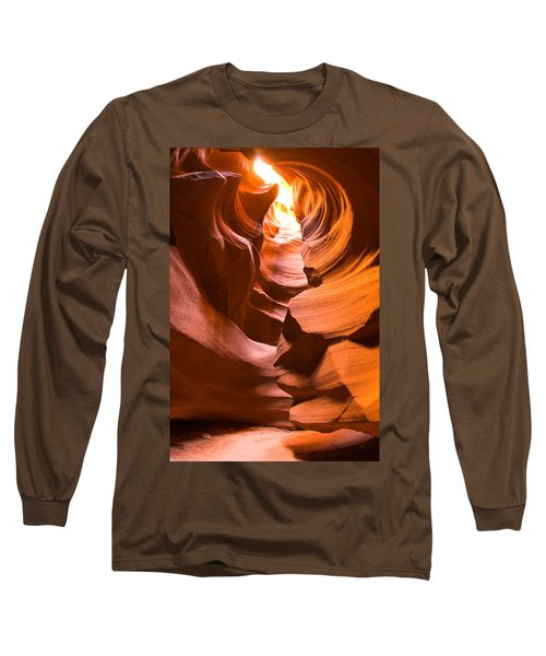 Antelope Canyon Long Sleeve T-Shirt by Harry Spitz