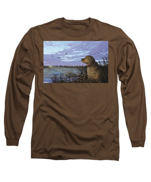 On Watch - Yellow Lab Long Sleeve T-Shirt