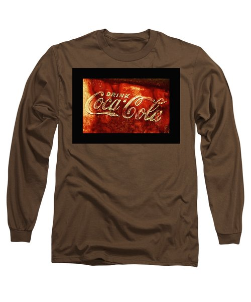 Antique Coca-cola Cooler II Long Sleeve T-Shirt by Stephen Anderson
