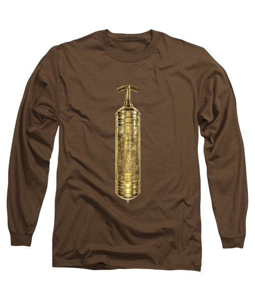 Antique Fire Extinguisher Long Sleeve T-Shirt
