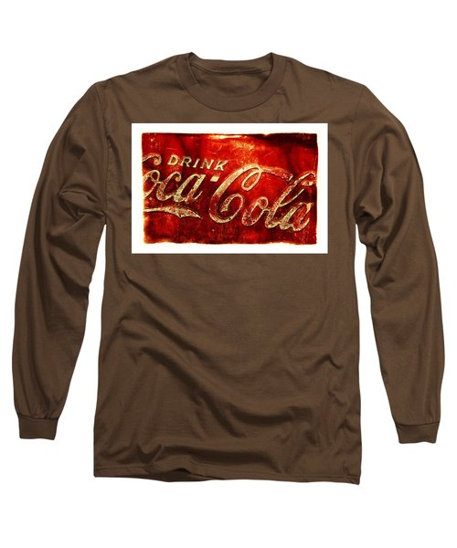 Antique Soda Cooler 2a Long Sleeve T-Shirt by Stephen Anderson
