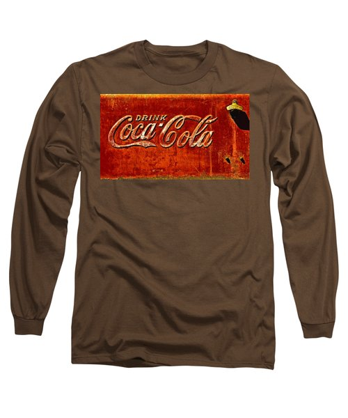 Antique Soda Cooler 3 Long Sleeve T-Shirt by Stephen Anderson