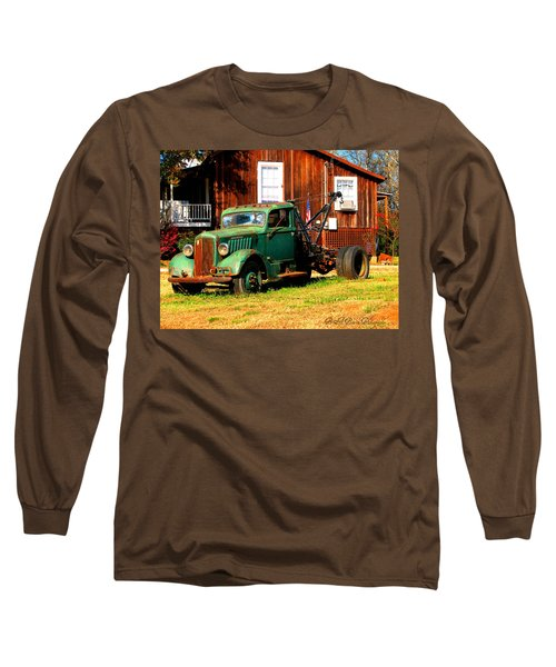 Antique Tow Truck Long Sleeve T-Shirt