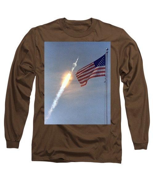 Apollo 11 Launch Long Sleeve T-Shirt