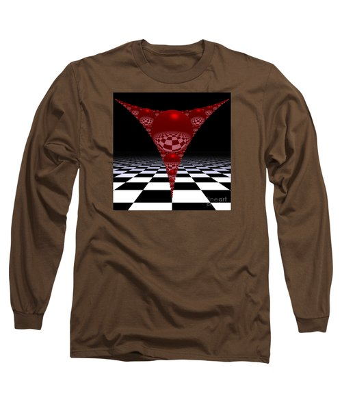 Apollonian Gasket And Reflections Long Sleeve T-Shirt