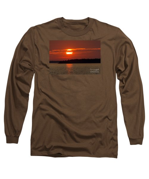 Apostle Island Sunset Long Sleeve T-Shirt