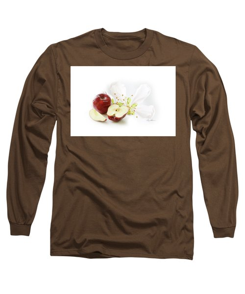 Apples And Blossom Long Sleeve T-Shirt