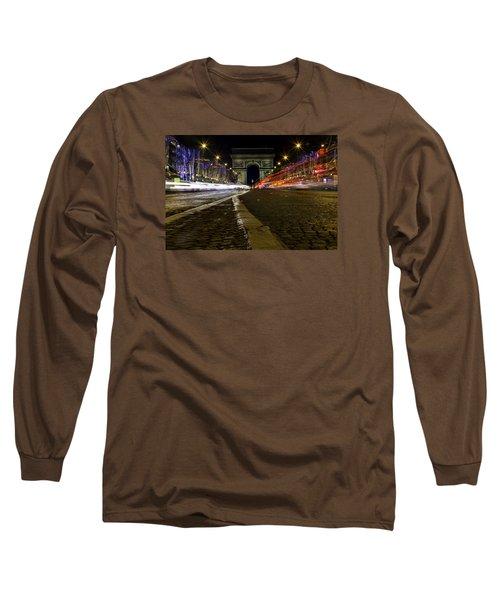 Arc D'triumph With Stripes Long Sleeve T-Shirt