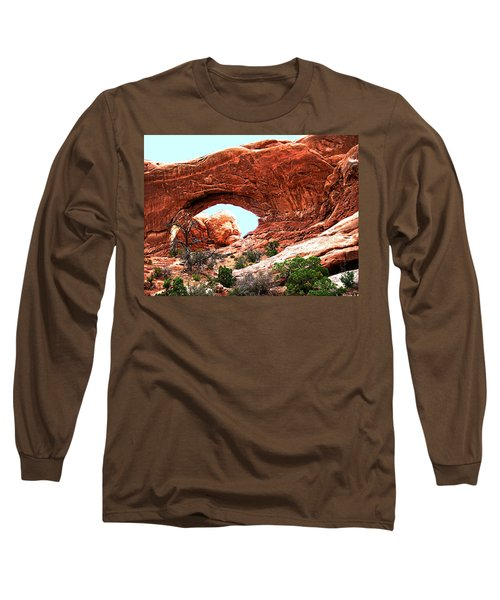 Arch Face Long Sleeve T-Shirt