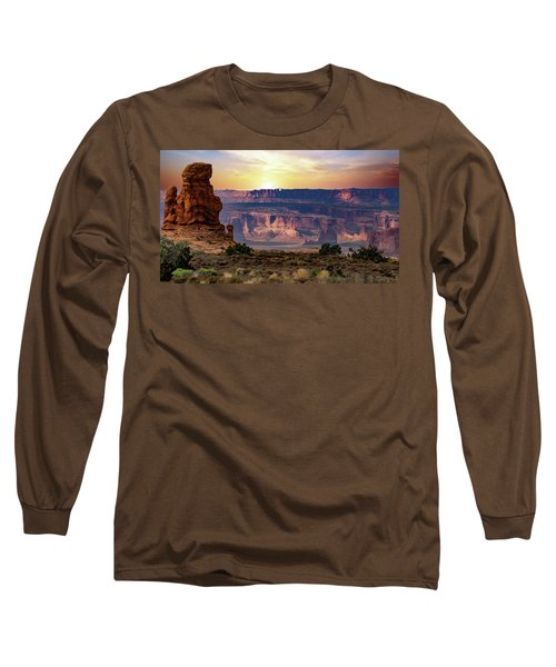 Arches National Park Canyon Long Sleeve T-Shirt