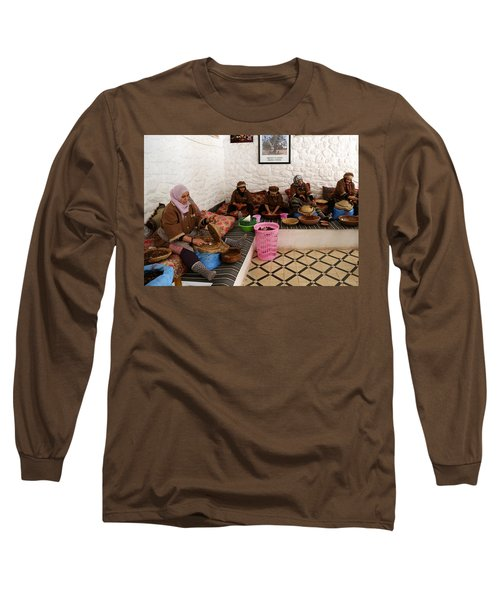 Long Sleeve T-Shirt featuring the photograph Argan Oil 1 by Andrew Fare