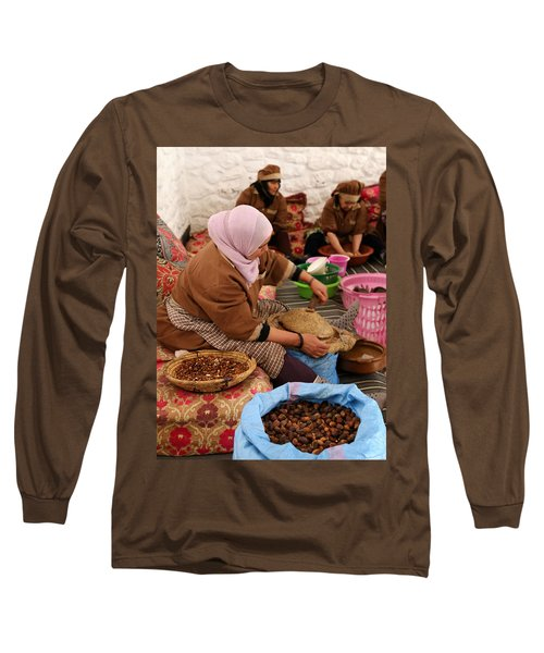 Long Sleeve T-Shirt featuring the photograph Argan Oil 2 by Andrew Fare